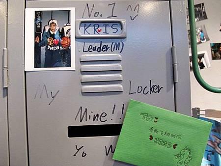 寄信給KRIS