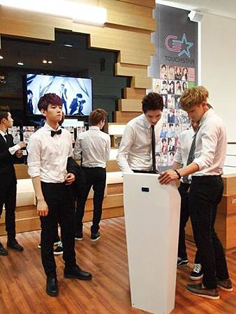 EXO @ Gangnam Tourist Information Centre