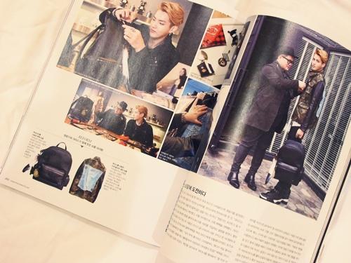 EXO Kris 雜誌《The Celebrity》5月號