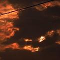 鬼臉 出現在天空