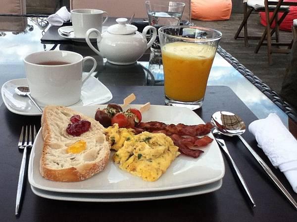 Azores民宿早餐