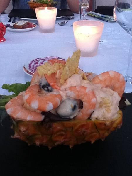 生日晚餐前菜