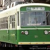 嵐電電車-4