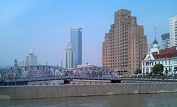 蘇州河攔水壩及外白渡橋