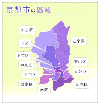 京都市區域