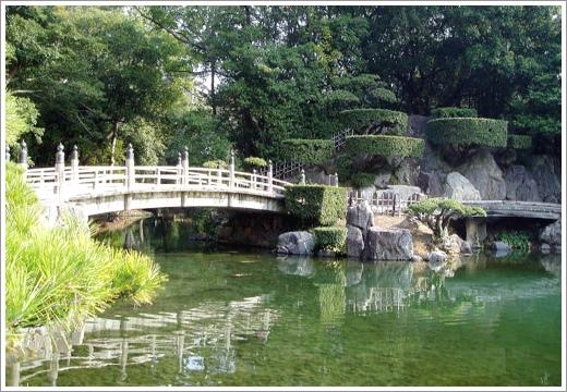 第19景-南湖(迎春橋及飛猿巖)