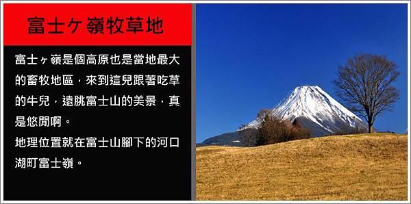 富士嶺牧草地