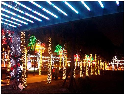 歡樂聖誕樹夜景-4