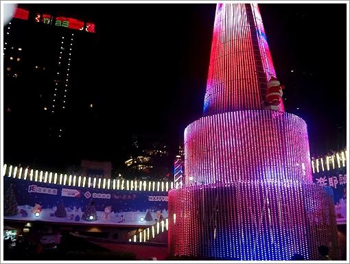 歡樂聖誕樹夜景-6