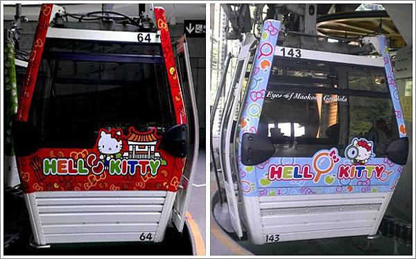 Hello Kitty纜車廂