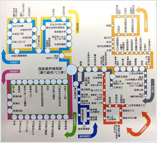 西鐵Bus路線圖.jpg