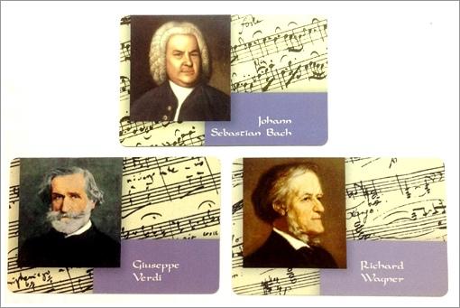 三大知名作作曲家