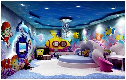 土樓兒童酒店-海底世界