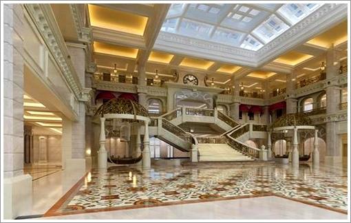 溫泉酒店大堂
