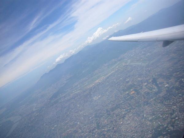 遠東航空離島線飛機上04
