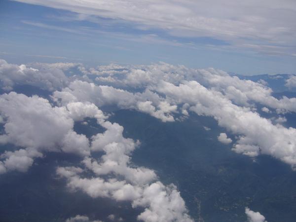 遠東航空離島線飛機上06