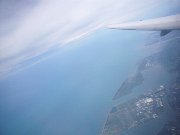 遠東航空離島線飛機上10