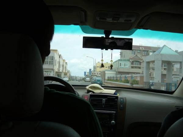 前往岐頭遊客中心的港口