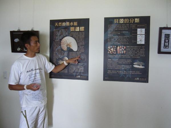 澎湖鳥嶼的第一天-下午行程-小花私人收藏貝殼館05