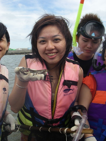 澎湖鳥嶼的第一天-下午行程-踏浪與浮潛04