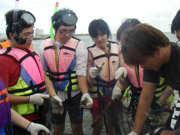 澎湖鳥嶼的第一天-下午行程-踏浪與浮潛08