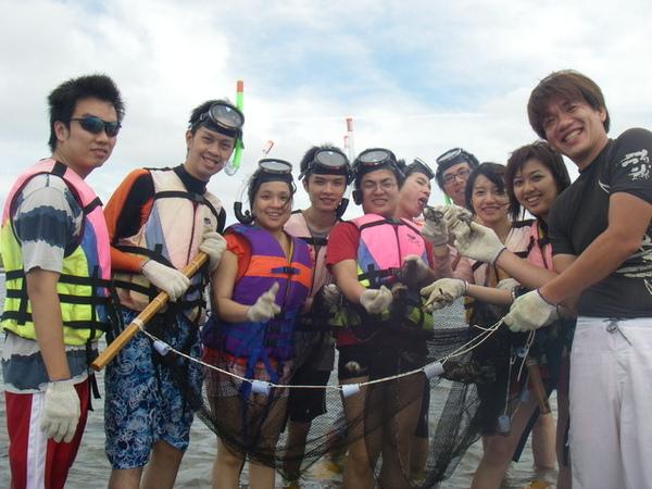澎湖鳥嶼的第一天-下午行程-踏浪與浮潛10