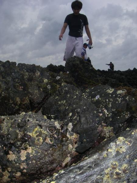 澎湖鳥嶼的第一天-下午行程-踏浪與浮潛18