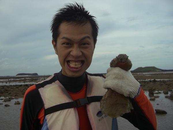 澎湖鳥嶼的第一天-下午行程-踏浪與浮潛24