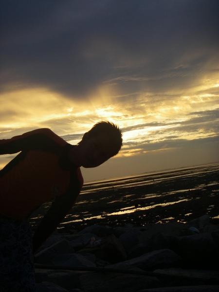 澎湖鳥嶼的第一天-下午行程-澎湖鳥嶼的夕陽12