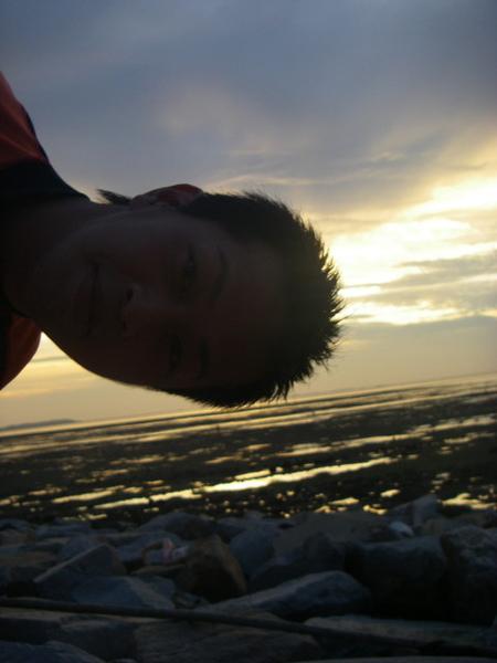 澎湖鳥嶼的第一天-下午行程-澎湖鳥嶼的夕陽13