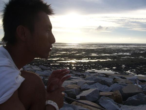 澎湖鳥嶼的第一天-下午行程-澎湖鳥嶼的夕陽15