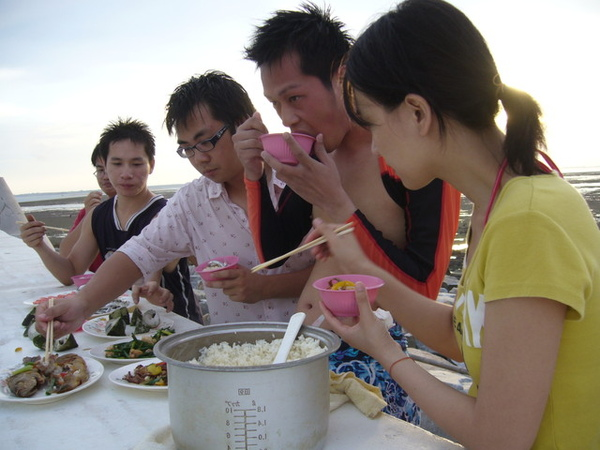 澎湖鳥嶼的第一天-下午行程-與鳥嶼的夕陽突然有個晚餐約會08