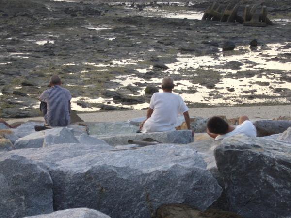澎湖鳥嶼的第一天-下午行程-澎湖鳥嶼的夕陽17