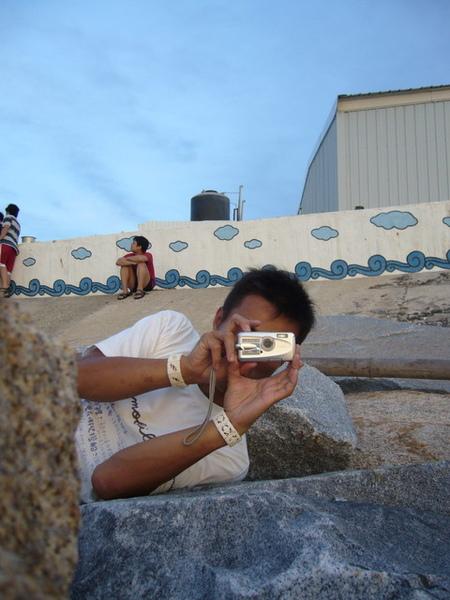 澎湖鳥嶼的第一天-下午行程-澎湖鳥嶼的夕陽18