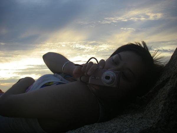 澎湖鳥嶼的第一天-下午行程-澎湖鳥嶼的夕陽20