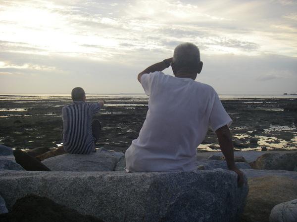 澎湖鳥嶼的第一天-下午行程-澎湖鳥嶼的夕陽22