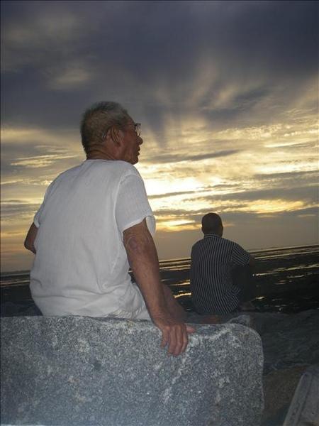 澎湖鳥嶼的第一天-下午行程-澎湖鳥嶼的夕陽23
