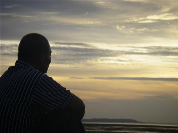 澎湖鳥嶼的第一天-下午行程-澎湖鳥嶼的夕陽25