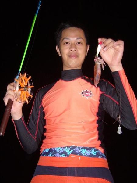 澎湖鳥嶼的第二天-下午行程-海上夜釣小管19
