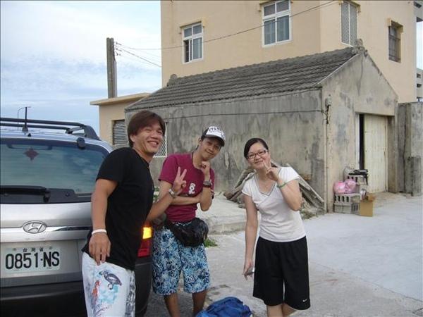 澎湖鳥嶼的第三天-下午行程-去妹妹的同學家與她同學會合