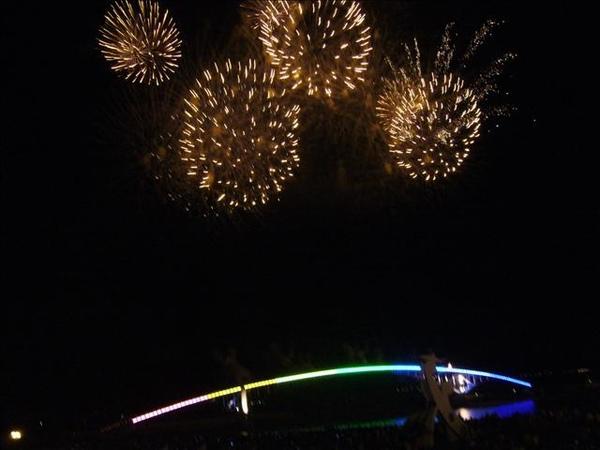澎湖鳥嶼的第三天-晚上行程-澎湖觀音亭-花火節閉幕煙火31