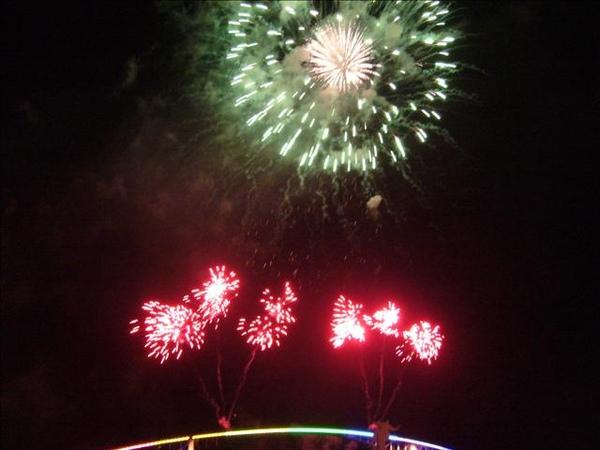 澎湖鳥嶼的第三天-晚上行程-澎湖觀音亭-花火節閉幕煙火33