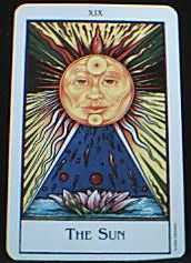 XIX 太陽 The Sun