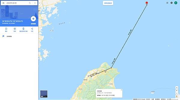 20180415第二關出海210km