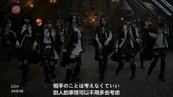 [東京不夠熱字幕]AKB48 - UZA.mp4_20121008_232229.510