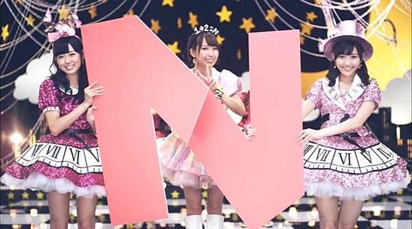[高清正式PV]AKB48 29th - チームB推し.mkv_20121201_210952.977