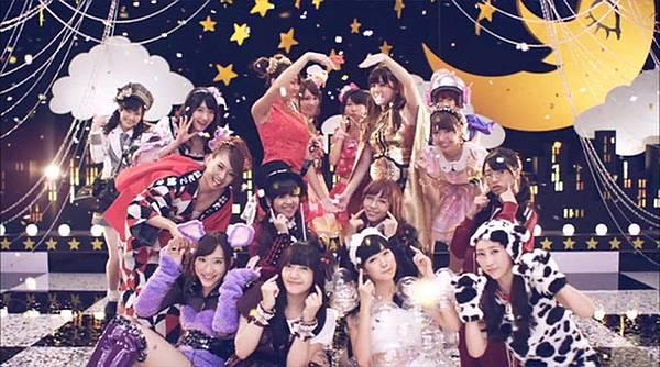 [高清正式PV]AKB48 29th - チームB推し.mkv_20121201_211225.982