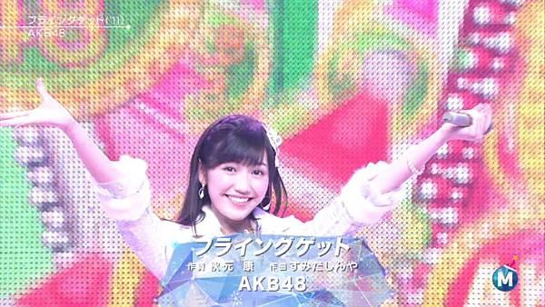 [lwtnbmy] AKB48 - フライングゲット & ギンガムチェック & 永遠プレッシャー & ポニーテールとシュシュ (MSSL 2012.12~.ts_20121223_140641.784