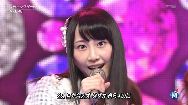 [lwtnbmy] AKB48 - フライングゲット & ギンガムチェック & 永遠プレッシャー & ポニーテールとシュシュ (MSSL 2012.12~.ts_20121223_140950.045