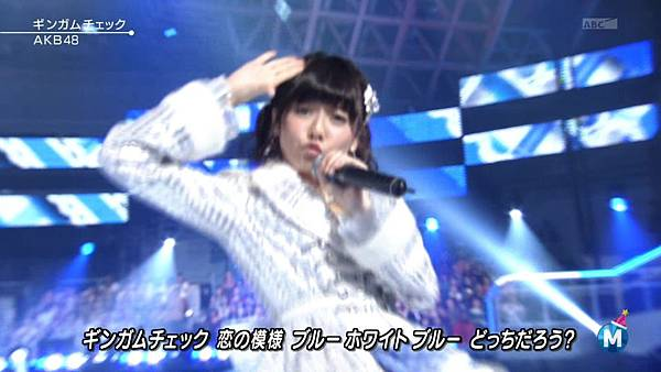 [lwtnbmy] AKB48 - フライングゲット & ギンガムチェック & 永遠プレッシャー & ポニーテールとシュシュ (MSSL 2012.12~.ts_20121223_141311.709